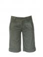 Khaki cotton bermuda shorts Size 36
