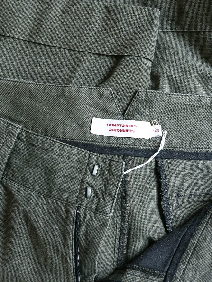Louise paris comptoir des cotonniers khaki cotton bermuda shorts size 36 - Comptoir des cotonniers paris 16 ...