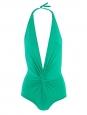 Maillot de bain une pièce vert émeraude NEUF Px boutique 235€ Taille 34 à 36