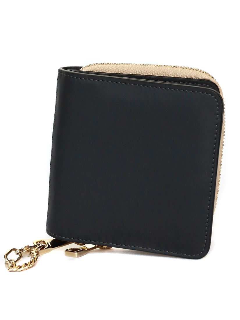 Louise Paris Chloe Baylee Two Tone Leather Square Wallet