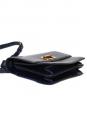 CHLOE Sac à bandoulière LOUISE en cuir Bleu marine Px boutique 1450€