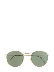 3b508021ca6005 Lunettes de soleil Round Classic monture dorée Px boutique ...