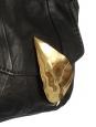 Petit sac du soir en agneau noir et feuille doré Px boutique 950€