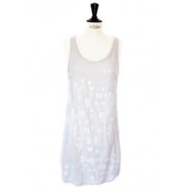 Embroidered silk cocktail dress Retail price €1800 Size XS / 36
