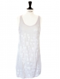 Embroidered silk cocktail dress $2600 Size XS / 36