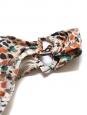 Bas de maillot de bain motifs géométriques Taille 38