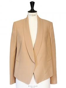 Veste blazer fluide beige rosé Px boutique environ 1300€ Taille 38