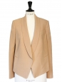 Pink beige blazer jacket Retail price around €1300 Size 38