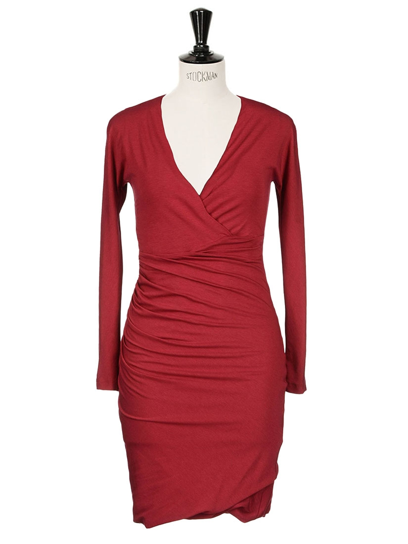 Robe rouge taille 40