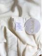 Jupe drapée en soie blanche Px boutique 680€ Taille 40