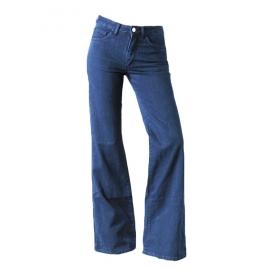 Jean A Pant seventies pattes d'éléphant bleu moyen Px boutique 250€ Taille 40/42