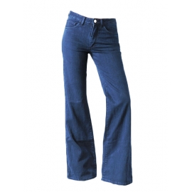 Jean A Pant High Waisted Flare medium blue Jeans Retail price €250 Size 40/42 or Large