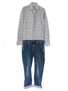 Combinaison jean chemise liberty Px boutique 1600€ Taille 36