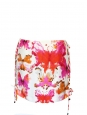 Colorful aquarel butterflies print silk skirt Retail prix 256€ Size 36