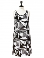 Black and white sequin dress Retail price €3000 Size 38