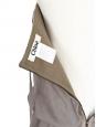 Robe bustier en laine, soie et coton vert kaki clair Px boutique 1000€ Size 36