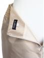 Jupe en passementerie et soie beige champagne Px boutique 800€ Taille 40