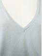 Robe pull en cachemire et soie gris bleu Px boutique 450€ Taille 38/40