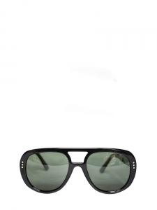 Lunettes de soleil aviator noires verres polarisés Px boutique 270€