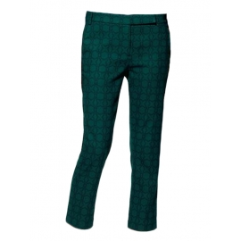 Dark green Asher Skinny Beatles cropped pants Retail price €300 Size 38