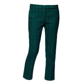 Pantalon cropped Asher Skinny Beatles vert émeraude Px boutique 300€ Taille 38