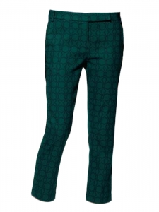 Emerald green Asher Skinny Beatles cropped pants Retail price €300 Size 38