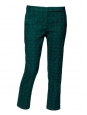 Dark green Asher Skinny Beatles cropped pants Retail price €300 Size 38