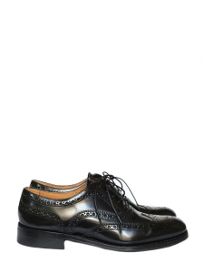 The Burwood black leather brogues NEW Retail price €490 Size 39