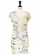 Short sleeves ethnic print cotton dress Size 34/36