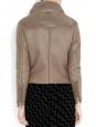 Veste manteau RITA shearling aviateur beige Px boutique 1900€ Taille 36