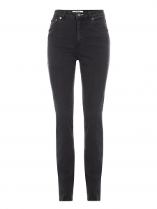 NEEDLE Washed black denim high waisted pants Retail price €190 Size 27/32