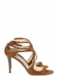 LANCE Nutmeg brown suede leather sandals NEW Retail price €650 Size 37