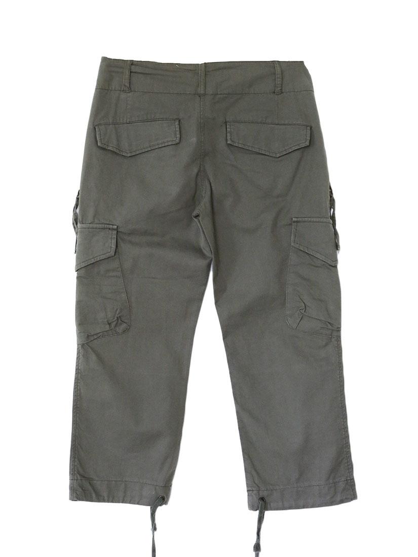louise paris comptoir des cotonniers pantalon en coton kaki style treillis militaire taille 36. Black Bedroom Furniture Sets. Home Design Ideas