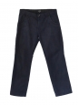 Navy blue chino trousers Retail price €170 Size 38 / S