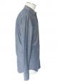 Chemise manches longues en chambrai de coton bleu jean Taille XS