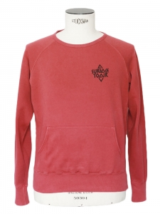 Pull sweat SURFACE TO AIR imprimé en coton rouge Taille XS