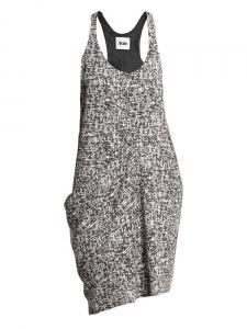 Robe MAGENTA fine à bretelles imprimés graphique noir et blanc Px boutique 240€ Taille 36