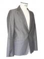 Veste blazer classique homme en coton gris Px boutique 360€ Taille S
