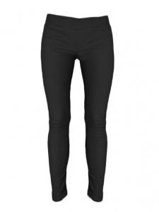 Black lambskin leather legging pants Retail price €1247 Size 36