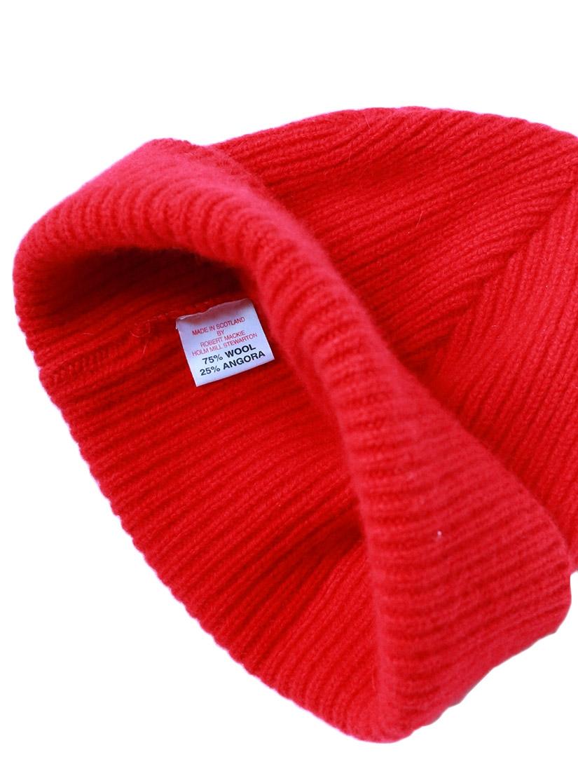 Louise Paris - ROBERT MACKIE Bonnet tout doux en laine et angora ... 90b3d834eca