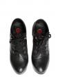 Low boots SILVERADO à lacets en cuir noir Px boutique 550€ Taille 37