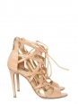 Sandales stilettos BOOMERANG en cuir beige nude Prix boutique 1180€ Taille 37