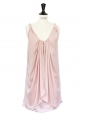 Pale pink strap cocktail dress Retail price €360 Size 34/36