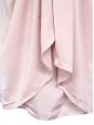 Robe de cocktail drapée rose pâle Px boutique 360€ Taille 36