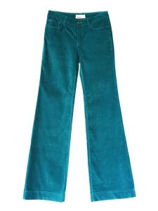 Pantalon en velours bleu canard Px boutique 300€ Taille 38