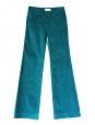 Pantalon en velours bleu canard Px boutique 300€ Taille 34