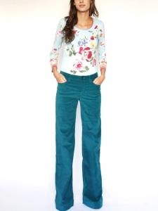 97c18170989d Pantalon en velours bleu canard Px boutique 300€ Taille 38