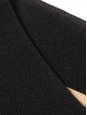 Robe patineuse en crêpe noir Px boutique 1200€ Taille 38