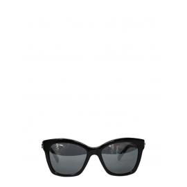 Lunettes de soleil BOY BRICK monture noire verres miroirs Px boutique 245€ NEUVES