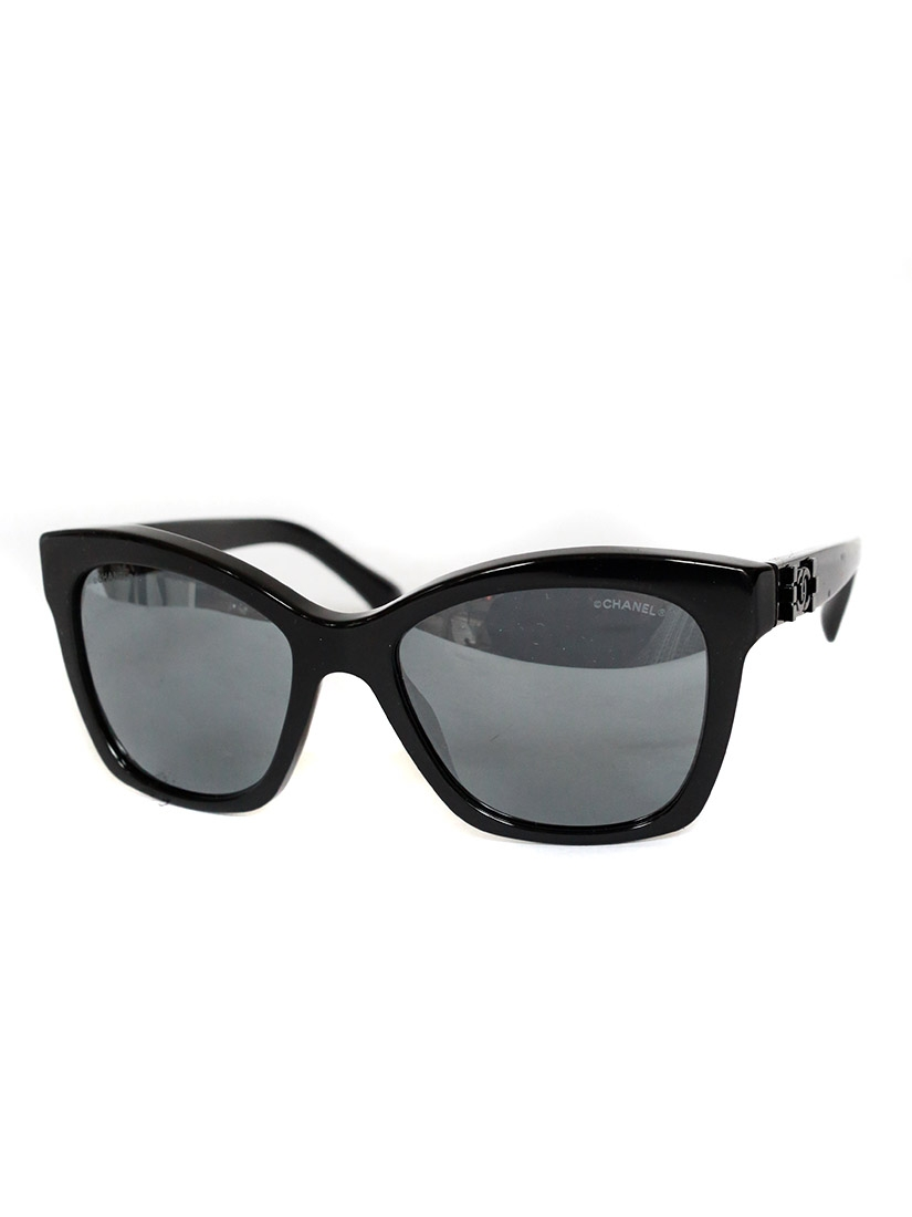 Louise Paris - CHANEL Black frame 5313 sunglasses Retail price €245 NEW